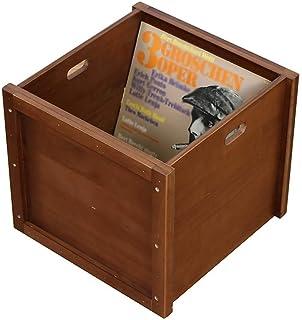 Decoración de LP de madera para hotel, CD, DVD, cinta de video, gabinete de almacenamiento de discos de vinilo - Soporte d...