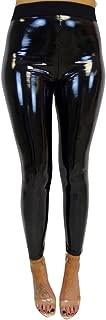 Reflektierende Yoga Jogginghose Damen Mädchen Yoga Leggings SHOBDW Damen Stretchy Shiny Sport Fitness Leggings Hosen Hosen Hosen Hose