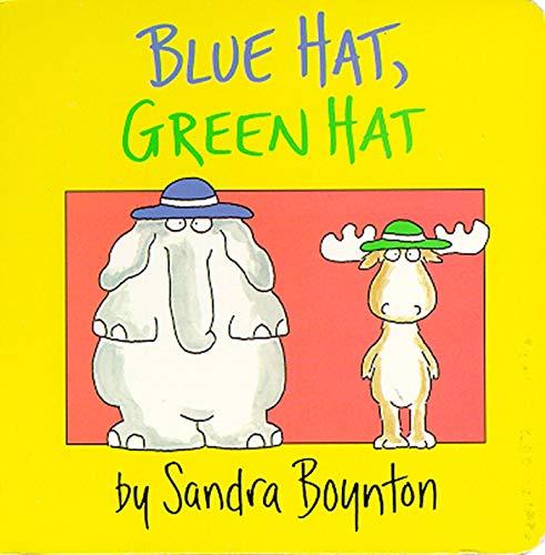 Blue Hat, Green Hat (Boynton Board Books)の詳細を見る