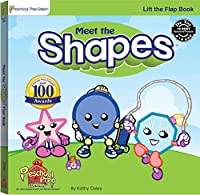 Meet the Shapes Lift the Flap Book 0977021505 Book Cover