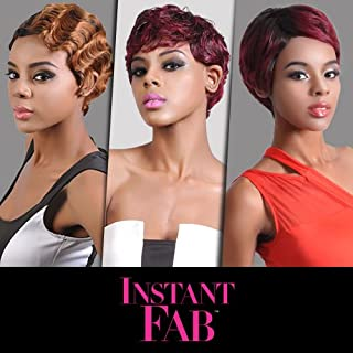 Instant Fab Remi Human Hair Wig Finger Wave (4)