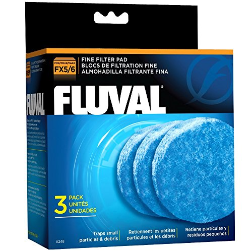 Fluval FX5 Fine Filter Polishing Pad - 3-Pack