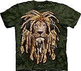 The Mountain Dj Jahman Adult T-Shirt, Green, Medium