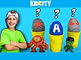 KidCity's Superhero Surprise Eggs!