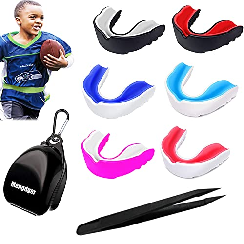 Mengdger Youth Mouth Guard Football MouthGuard Sports Kids Boys...