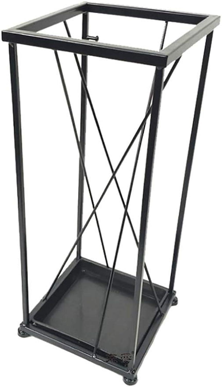 Umbrella Stand - Home Umbrella Stand Hotel Lobby Umbrella Stand Creative Creative Simple Storage Umbrella Stand Living Room Umbrella Stand (color  Black, White) (color   Black)