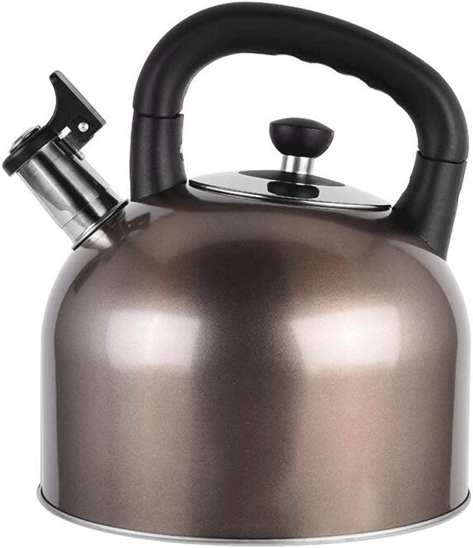promociones emocionantes W-SH Gas de de de Acero Inoxidable 304 Gran Capacidad Gas Cocina Hogar Gas Caliente 4L 5L 6L (Color  5L), marrón, 6L  40% de descuento
