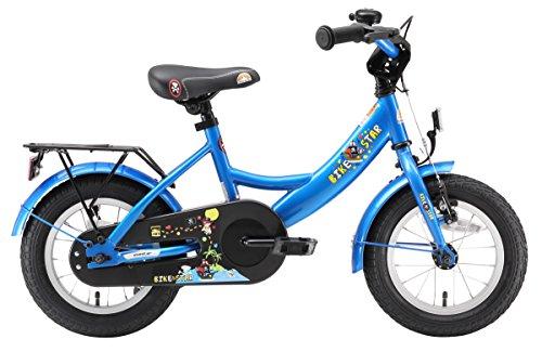BIKESTAR Kinderfahrrad für Mädchen und Jungen ab 3-4 Jahre | 12 Zoll Kinderrad Classic | Fahrrad für Kinder Blau - 2