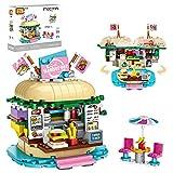 joylink Jeux de Construction, Magasin de Burger Blocs de Construction Building Blocks Toys 443 Pièces Ensemble de Blocs et Briques Jouets Créatif Éducatifs pour Les Enfants Garçons Filles