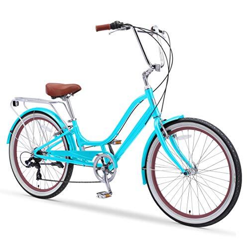 sixthreezero Relaxed Body 7-Speed Recumbent Comfort Bike, 26