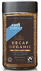 Smooth and flavourful coffee with 100 percent Arabica beans Full-flavoured roast without the caffeine Freeze dried decaffeinated instant coffee Ideal for any time of day