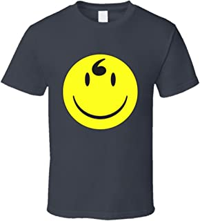 Get A New Tee Selena Gomez Happy Face Comma Charcoal T Shirt