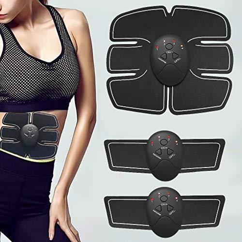 rongweiwang Intelligent Fitness Muskelstimulator Haushaltsbauch Elektrischer Muskelbauch Übungen Gym-Tool