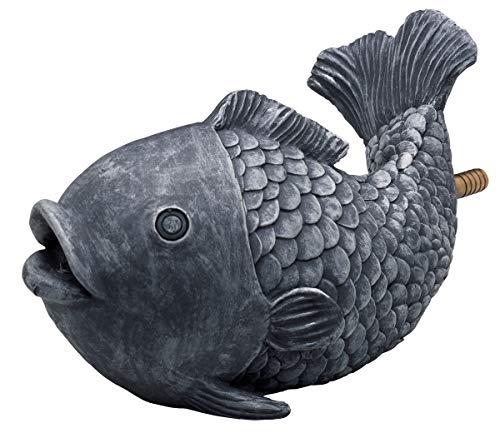 OASE 36777 Wasserspeier Fisch   Teichfigur   Dekoration   Wasserstrahl   Sauerstoff  
