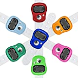 Electronic Finger Counter, 7-Pack Resettable 5...