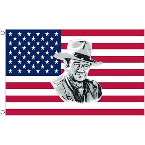 AZ FLAG Drapeau USA John Wayne 150x90cm - Drapeau américain - Etats-Unis 90 x 150 cm - Drapeaux