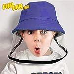 FUN FAN LINE - Gorro Infantil con Pantalla o máscara Facial Protectora Transparente para Mayor Segur... #2
