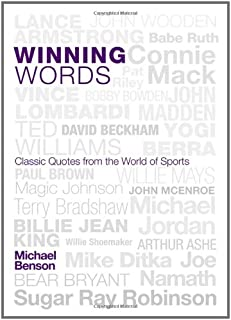 Winning Words: Classic Quotes from the World of Sports