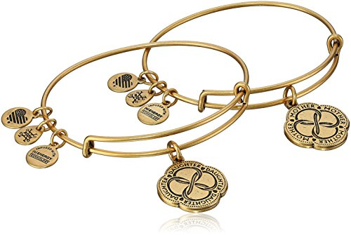 Alex and Ani Mom and Daughter Infinite Connection Set of Two Bangle Bracelet