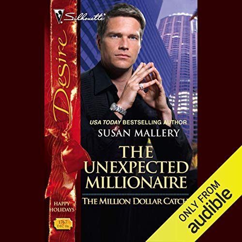 The Unexpected Millionaire audiobook cover art
