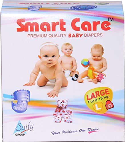 SMARTCARE Saify Healthkart Smart Care Super Absorbent, Pull Up, Skin Friendly, Baby Diaper (Large) - Pack of 90 Pieces
