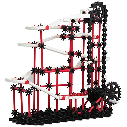FAO Schwarz 321-Piece Marble Run Construction and Building Kit for Kids