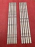 Juego de 10 tiras de retroiluminación LED para LG 55UJ6300 55UJ6307 55UJ635V 55UJ634V 55UJ630V 55LJ5500 55UJ635 55UJ63_UHD 55LJ55_FHD A B