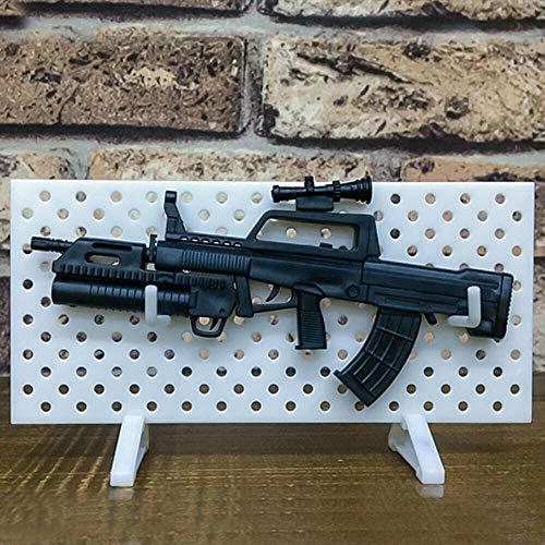 WQ-Hunting, Waffenregal Waffen im Maßstab 1/6 Display Wall Show Aufbewahrungshalter Ständer für Action-Figuren Modular Gun Rack Models