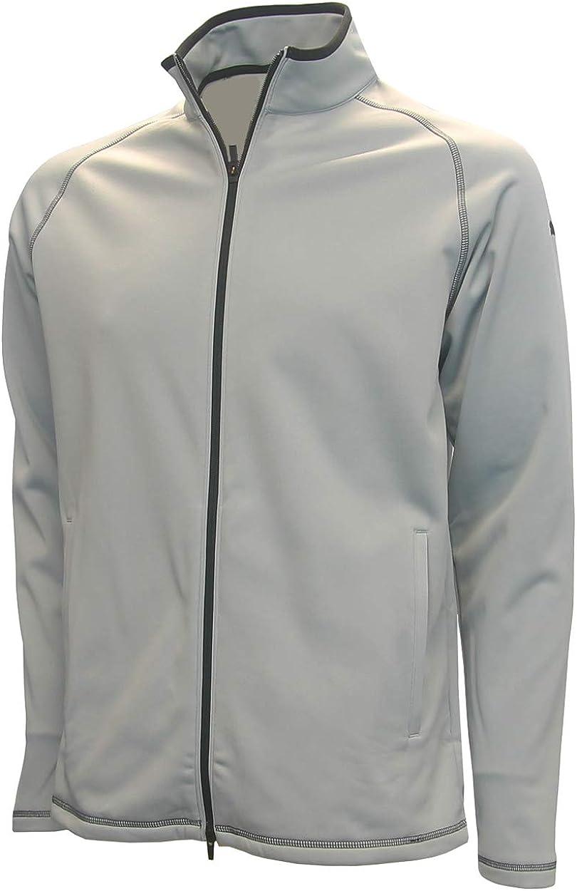 Puma Men's Member Full Zip Fleece Jacket, Quarry Grey, XX-Large