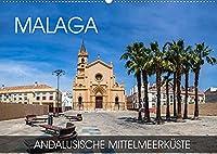 Malaga - andalusische Mittelmeerkueste (Wandkalender 2022 DIN A2 quer): Eine Fotoreise durch die andalusische Stadt an der Costa del Sol (Monatskalender, 14 Seiten )