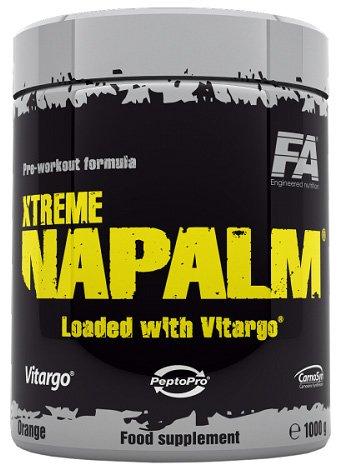 FA Nutrition Xtreme Napalm Vitargo Booster Trainingsbooster Bodybuilding 1000g (Pineaaple Kiwi - Ananas Kiwi)