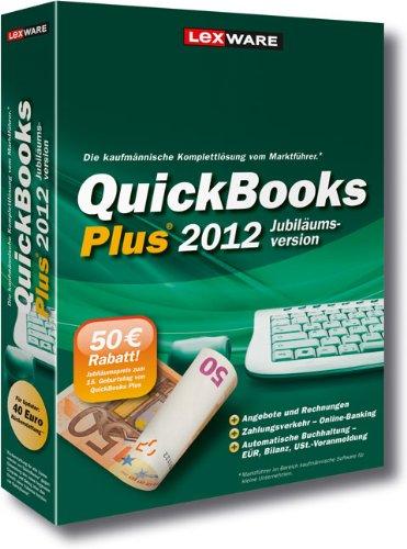 QuickBooks Plus 2012 Jubiläumsversion (V.17.0)