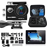 Videocamera sportiva HD 170 gradi obiettivo ultra grandangolare Full HD 1080P 12 MP 98-Fee...