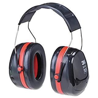3M H10A Peltor Optime 105 Over the Head Earmuff, Ear Protectors, Hearing Protection, NRR 30 dB,Black, Red (B00009LI4K) | Amazon price tracker / tracking, Amazon price history charts, Amazon price watches, Amazon price drop alerts