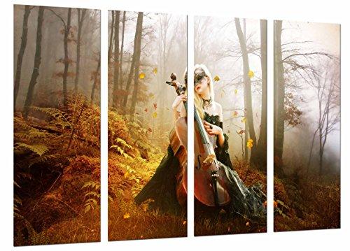 Poster Fotográfico Decoracion Musical Romantica, Violin, Gotica Tamaño total: 131 x 62 cm XXL