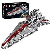 Technic modelo de crucero espacial, Mold King 21005, nave espacial MOC grande compatible con Lego Star Wars USC - 6685 piezas cruiser,112 * 59 * 31cm