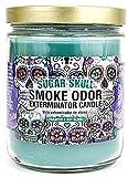 Smoke Odor Exterminator 13oz Jar Candle, Sugar Skull, 13 oz