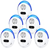 Best Ultrasonic Rodent Repellers - Ultrasonic Pest Repeller 6 Pack, Indoor Pest Control Review