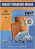 PPD Papier Magnétique Mat, Impression Jet d'Encre, A4 x 5 Feuilles, PPD-32-5