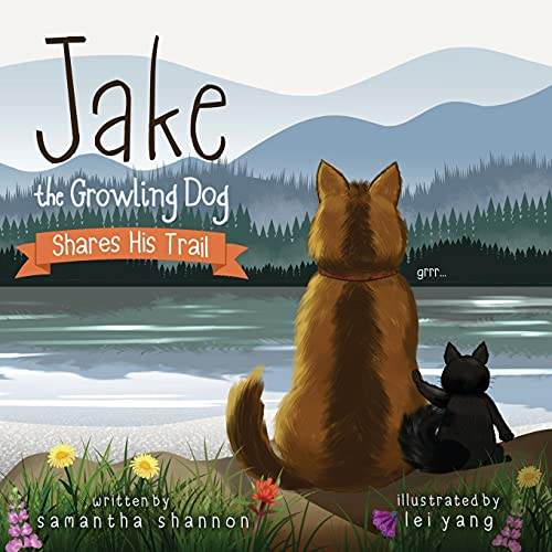 Jake the Growling Dog Shares His Trail: 3