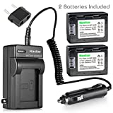 Kastar Battery 2X and Charger for Samsung IA-BP105R IA-BP210R, Samsung HMX-F90 HMX-F90BN HMX-F90WN HMX-F91 SMX-F400 SMX-F500 SMX-F501 SMX-F530 SMX-F700 HMX-F800 HMX-F810 HMX-F900 HMX-F910 HMX-F920