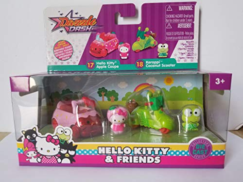 Hello Kitty & Friends Kitty Apple Coupe e Keroppi - Monopattino
