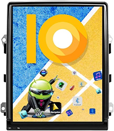 AEBDF Android 7.1 Navegación GPS para Porsche Cayenne 2011-2018, Pantalla Vertical estéreo de 10,4 Pulgadas, Sat SETEO Stereo Player Multimedia GPS NavigationsWC Bluetooth WiFi