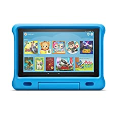 Image of All New Fire HD 10 Kids. Brand catalog list of Amazon. This item is rated with a 4.9 scores over 5