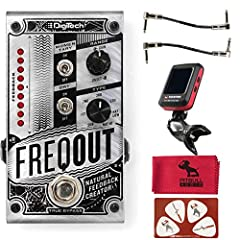 Natural Feedback at any level with or without distortion Onset Delay and Level balance controls 7 Harmonic Feedback types True Bypass Included: 2 Patch cables, 1 Clip-on Tuner, 1 Microfiber cloth, 1 Pik card.