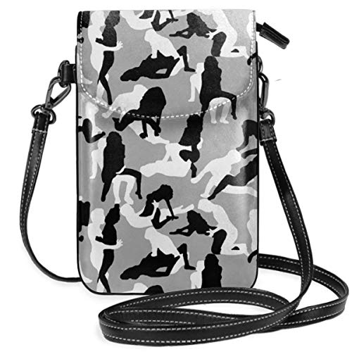 GUAHUAXIANG Camo Sutra Kamasutra Cell Phone Purse Crossbody Bag Pouch Shoulder Bags Wallet