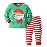 Fossen Kids - Pijamas Casero de Recién Nacido Bebé Navidad, Impresión de...