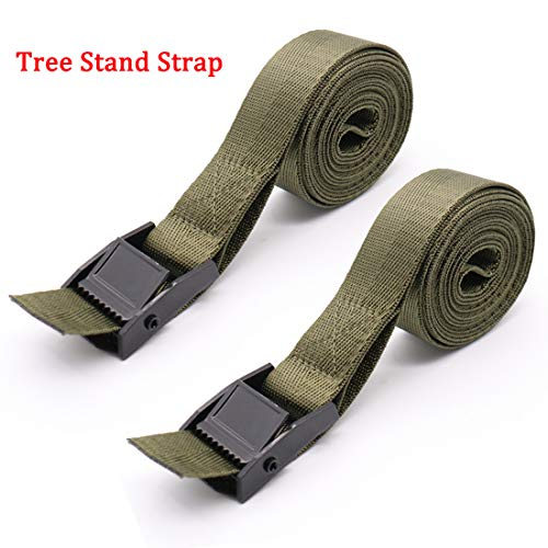 Review Of Boaton Tree Stand Stabilizer Straps, Tree Stand Accessories, Hunting Utility Strap for Hol...
