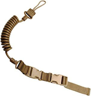 CyberDyer Tactical Elastic Lanyard Practical Security Leash 3 Colors Available