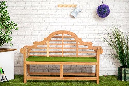 Gardenista Wasserabweisend Lutyens Gartenbank Kissen in Lime-Kleine